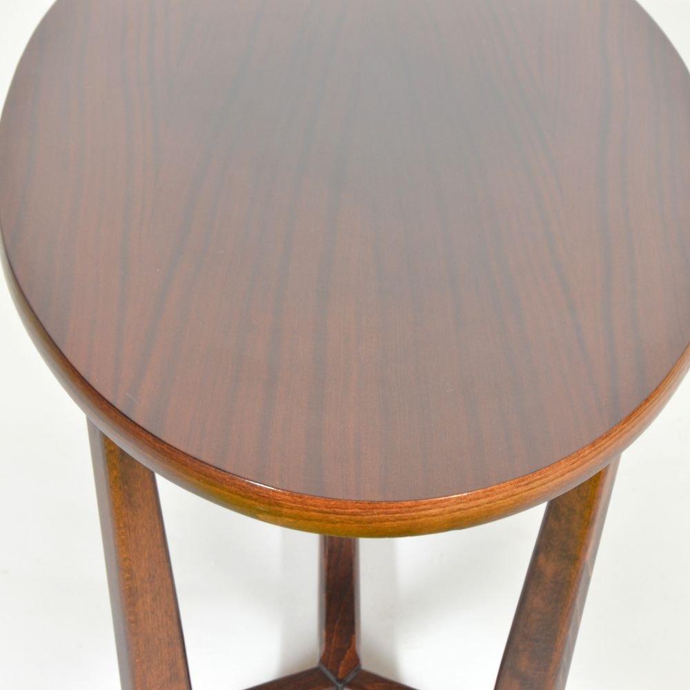 Oval coffee table from d evotvar hole ov 1980s en vente for Cie 85 table 4
