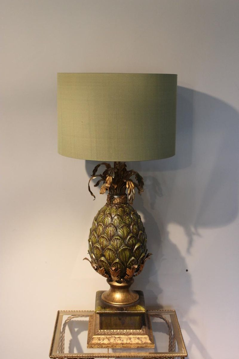 Italian pineapple table lamp 1950s for sale at pamono aloadofball Choice Image