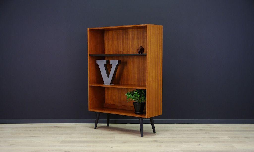 d nisches vintage teak regal bei pamono kaufen. Black Bedroom Furniture Sets. Home Design Ideas