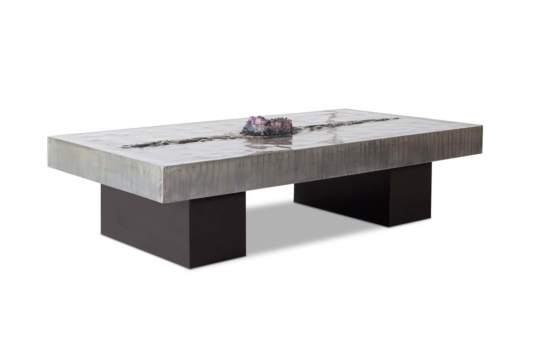 Belgian coffee table with amethyst inlay by marc dhaenens 1970s price per piece geotapseo Choice Image