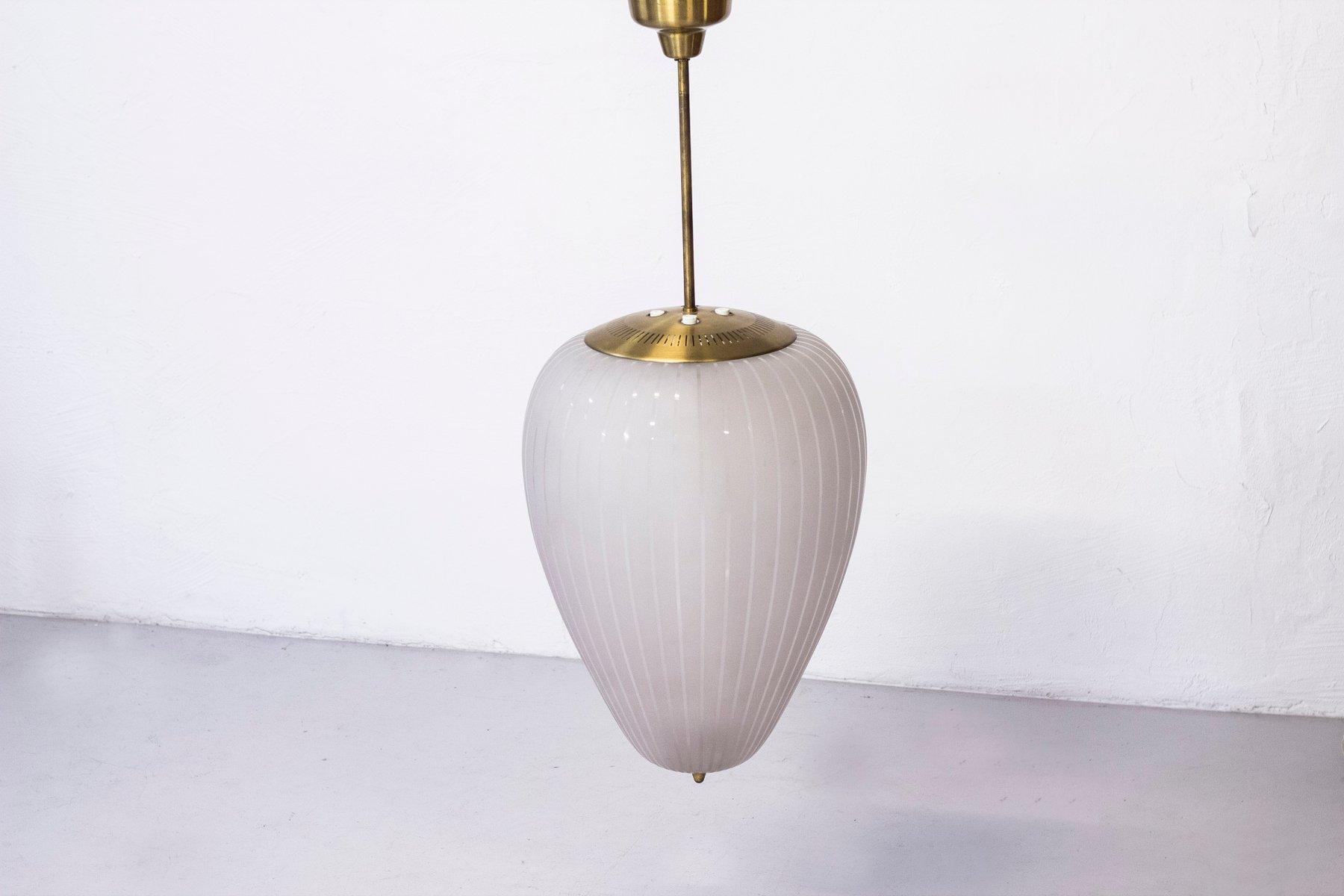 schwedische moderne deckenlampen von hans bergstr m f r asea 2er set bei pamono kaufen. Black Bedroom Furniture Sets. Home Design Ideas