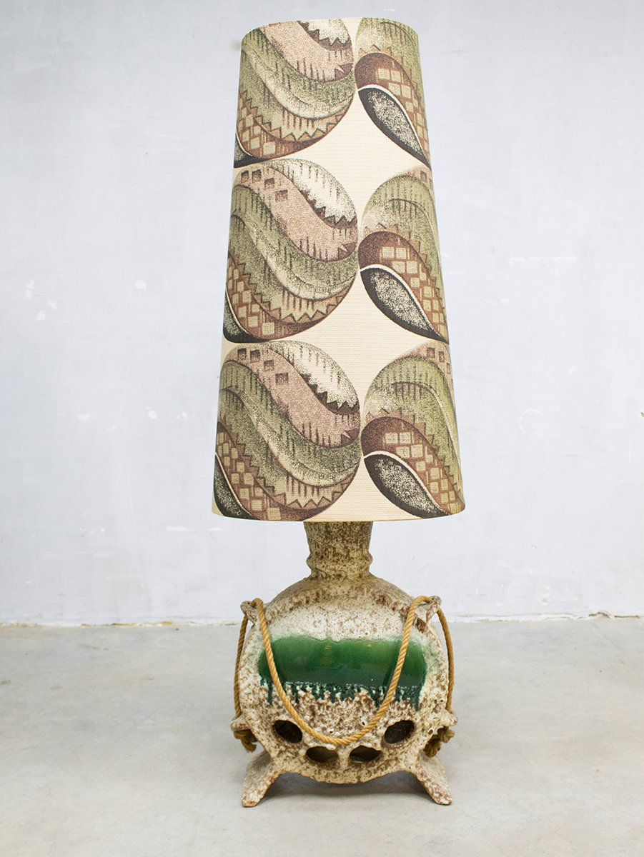 German ceramic floor lamp 1960s for sale at pamono for German floor lamps