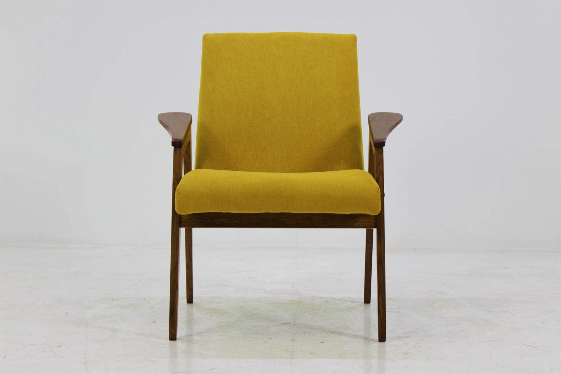 Mid-Century Yellow Armchair, 1960s
