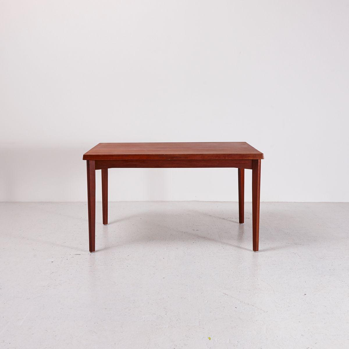 Extendable Teak Dining Table by Henning Kj230rnulf for Vejle  : extendable teak dining table by henning kjaernulf for vejle mobelfabrik 1960s 1 from www.pamono.co.uk size 1200 x 1200 jpeg 49kB