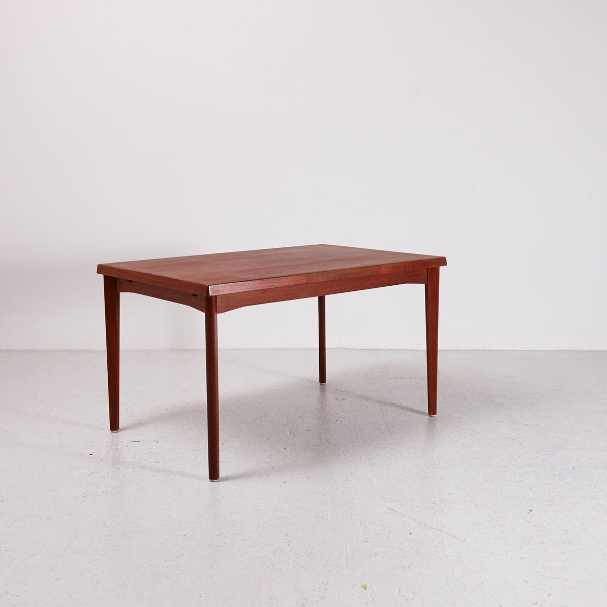 Extendable Teak Dining Table by Henning Kj230rnulf for Vejle  : extendable teak dining table by henning kjaernulf for vejle mobelfabrik 1960s 2 from www.pamono.co.uk size 1200 x 1200 jpeg 52kB