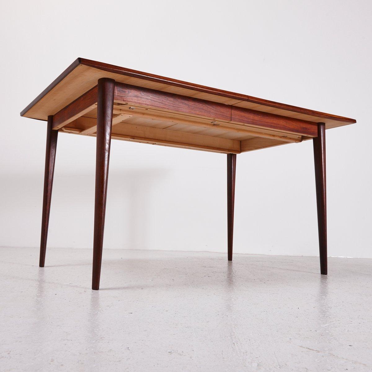 Esstisch aus palisander mit ausziehplatte 1960er bei for Esstisch palisander