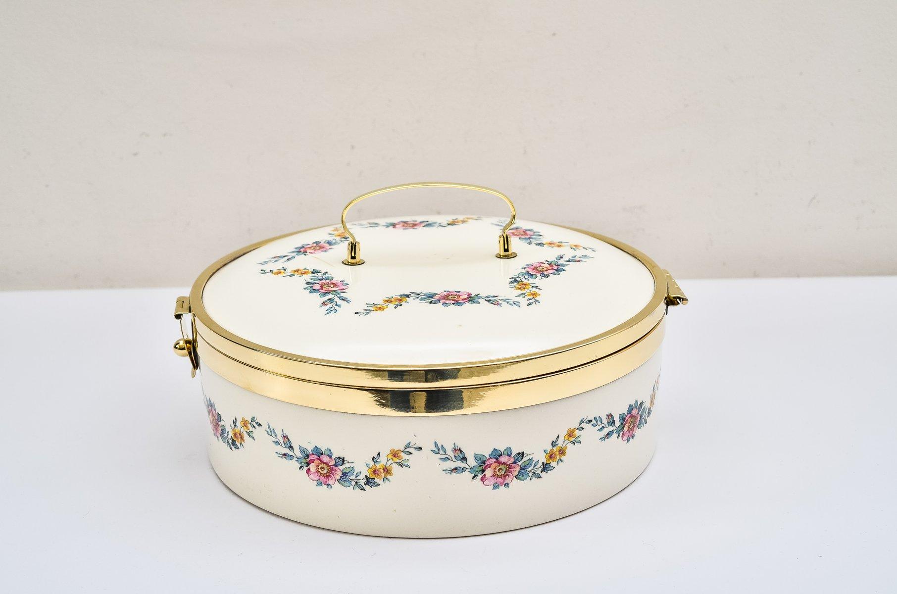 brotbox aus keramik von ditmar urbach 1920er bei pamono kaufen. Black Bedroom Furniture Sets. Home Design Ideas