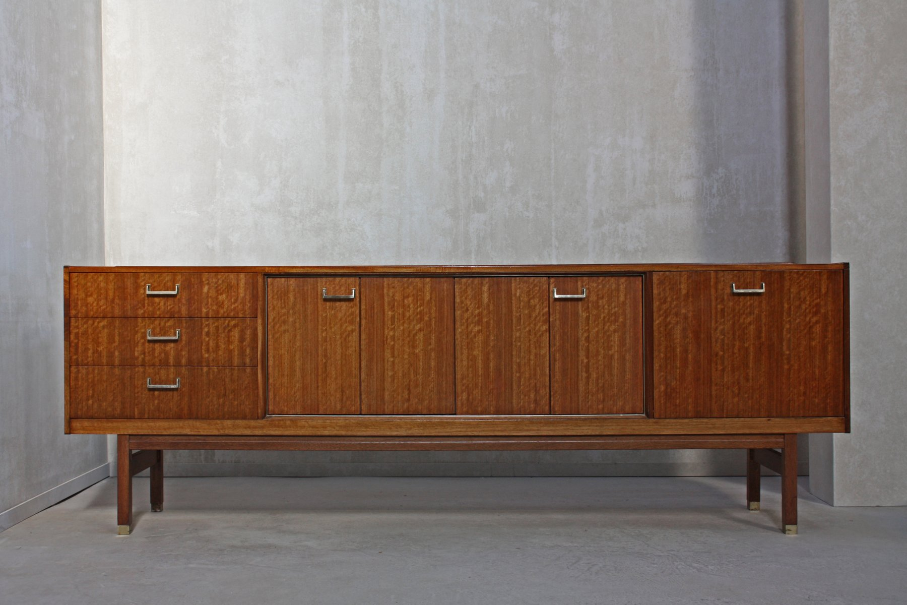 mid century sideboard from e gomme 1960s for sale at pamono. Black Bedroom Furniture Sets. Home Design Ideas