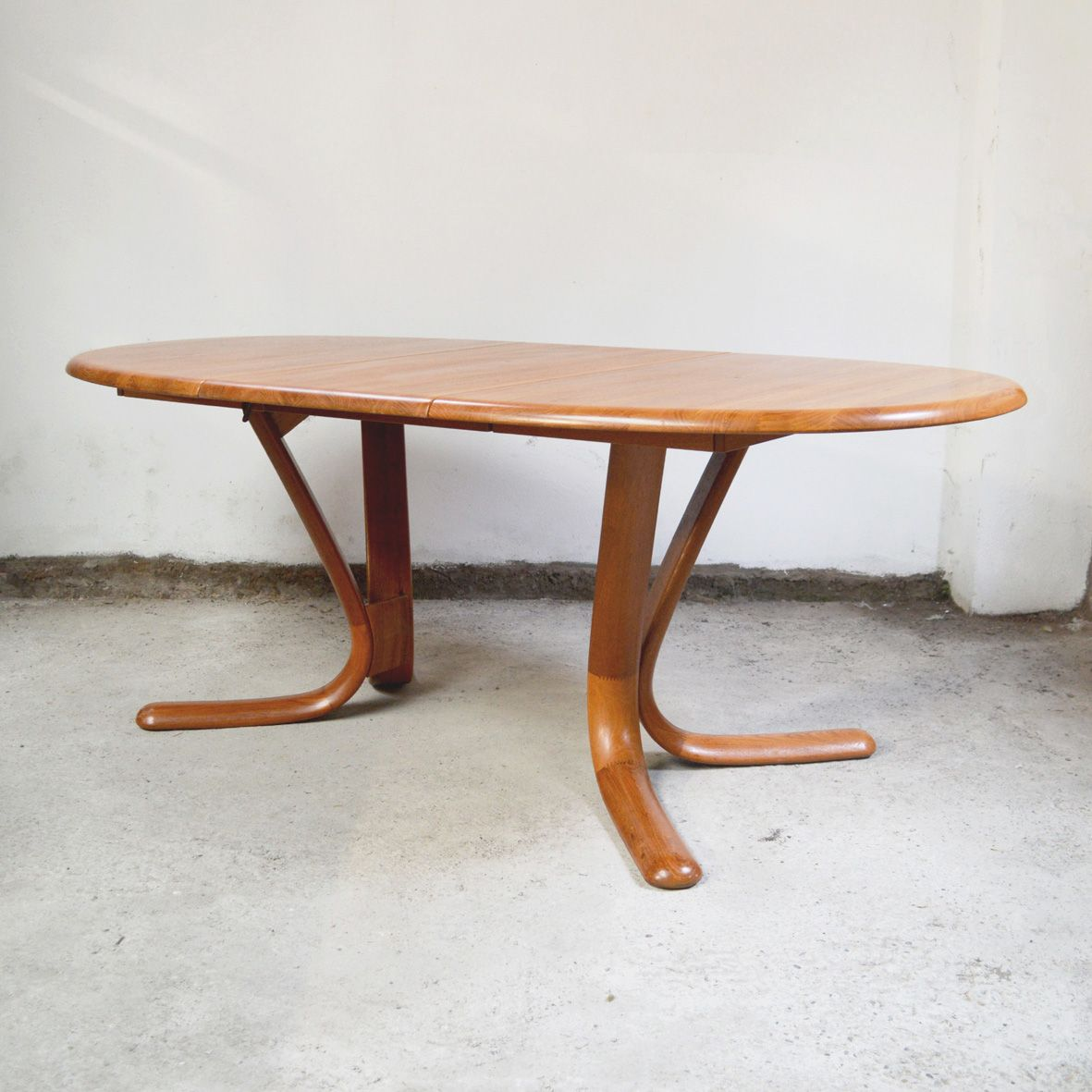 Danish Teak Dining Table with Extension 1980s for sale at  : danish teak dining table with extension 1980s 3 from www.pamono.com size 1181 x 1181 jpeg 358kB