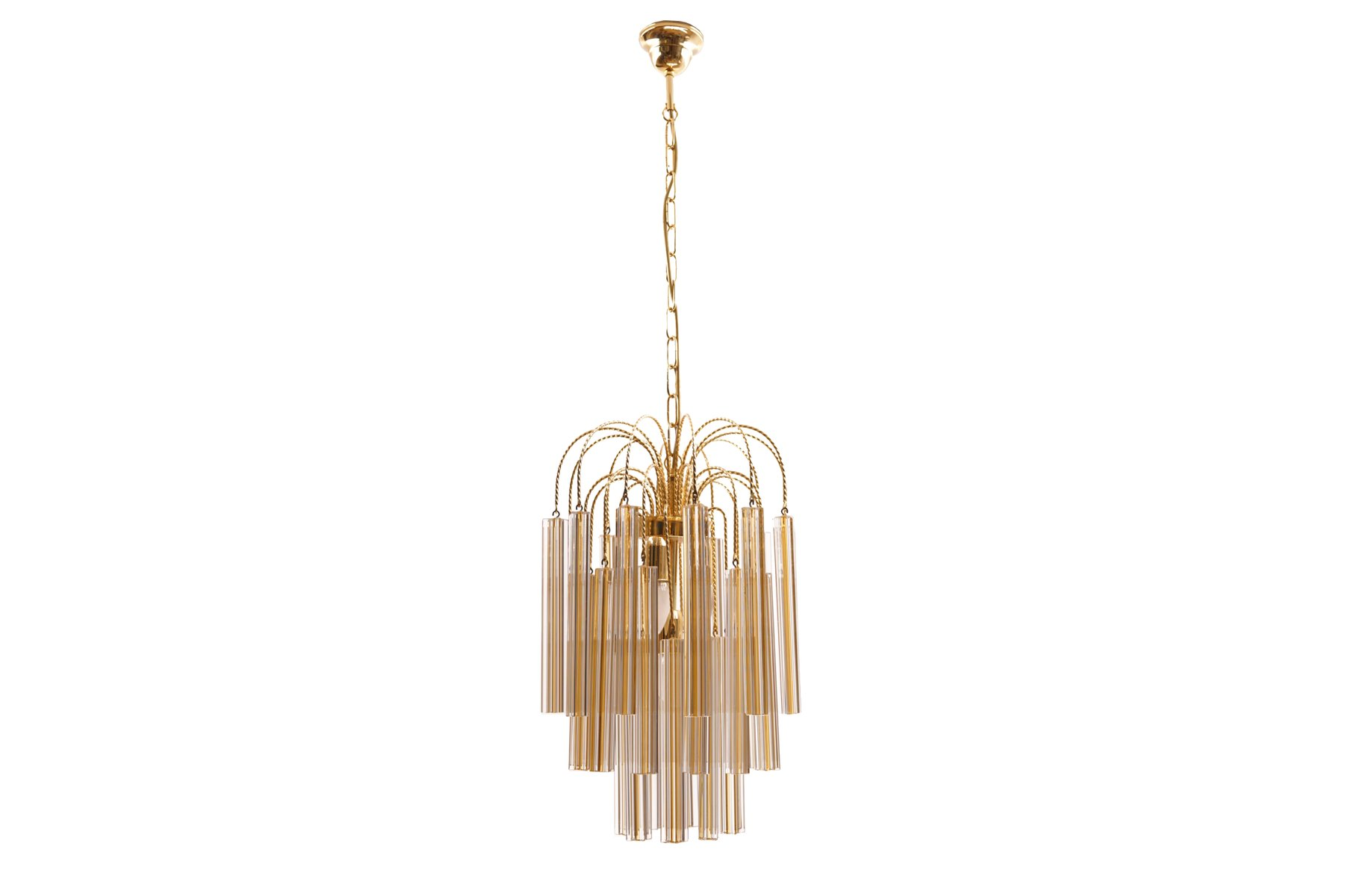 Vintage chandelier with murano glass from venini for sale at pamono aloadofball Choice Image