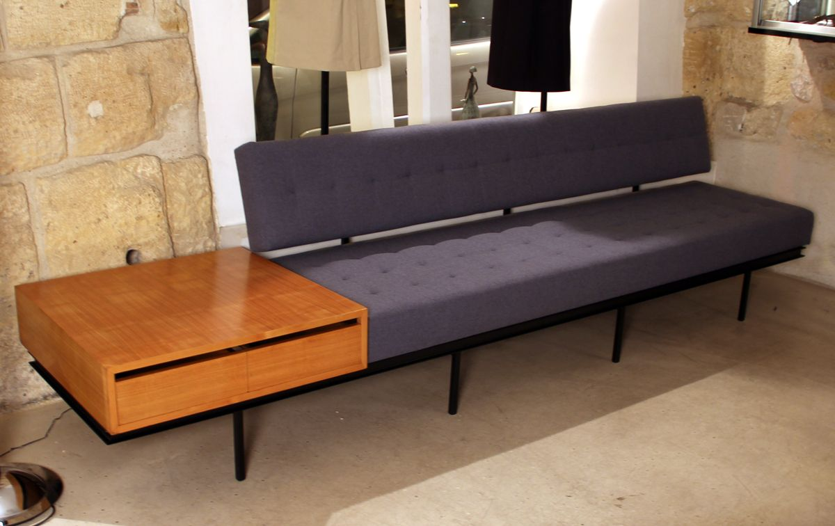 Mid century sofa by florence knoll for knoll inc for sale at pamono - Florence knoll sofa gebraucht ...