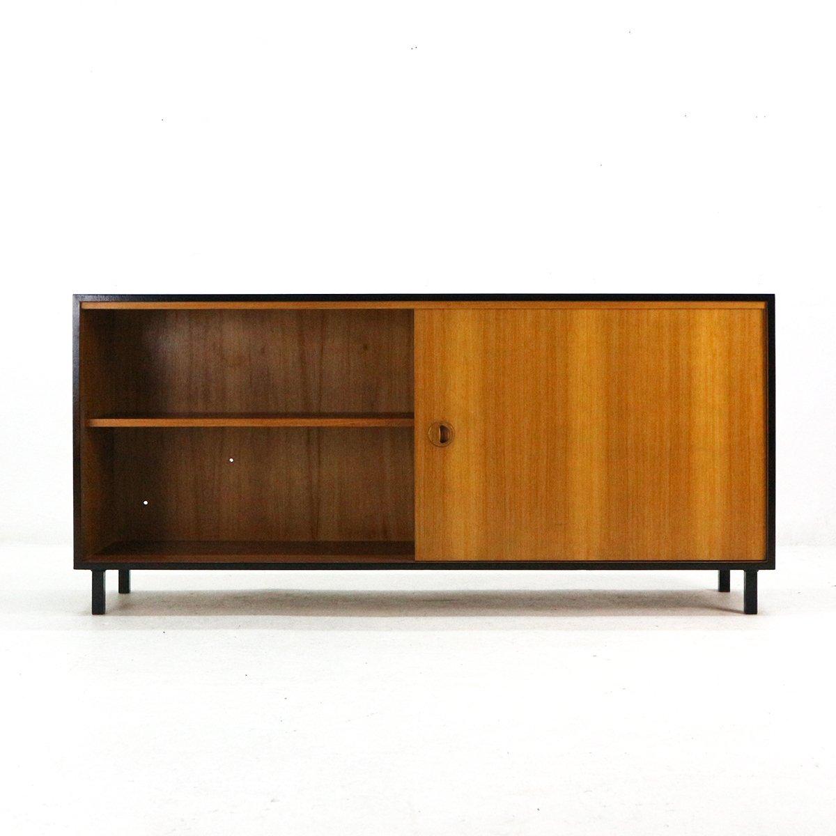 teak furnier sideboard von musterring 1960er bei pamono. Black Bedroom Furniture Sets. Home Design Ideas