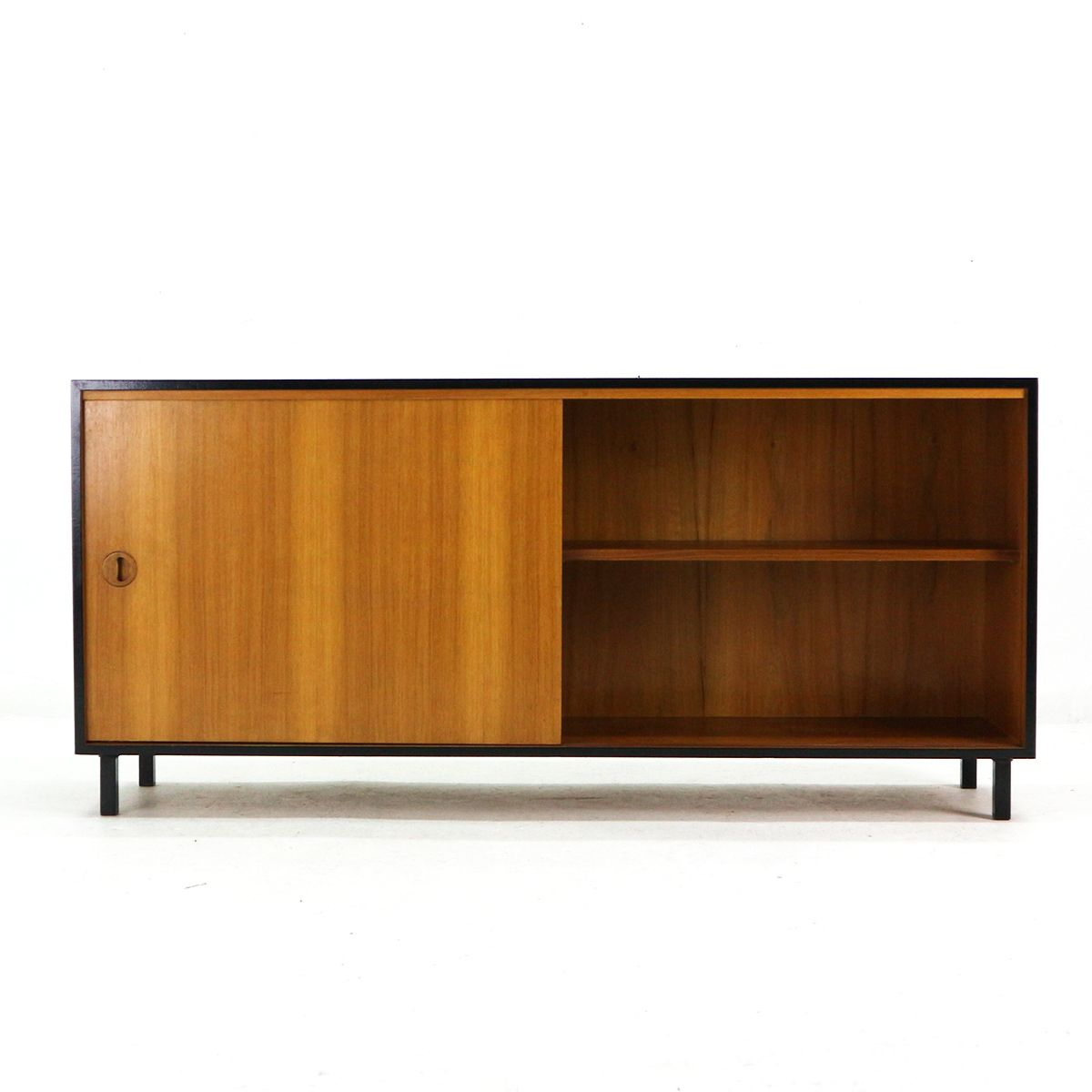 teak veneer sideboard from musterring 1960s for sale at pamono. Black Bedroom Furniture Sets. Home Design Ideas