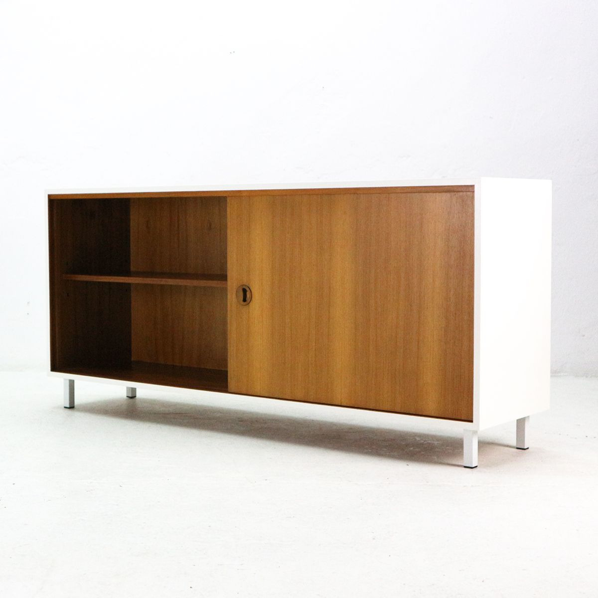 teak sideboard von musterring 1960er bei pamono kaufen. Black Bedroom Furniture Sets. Home Design Ideas