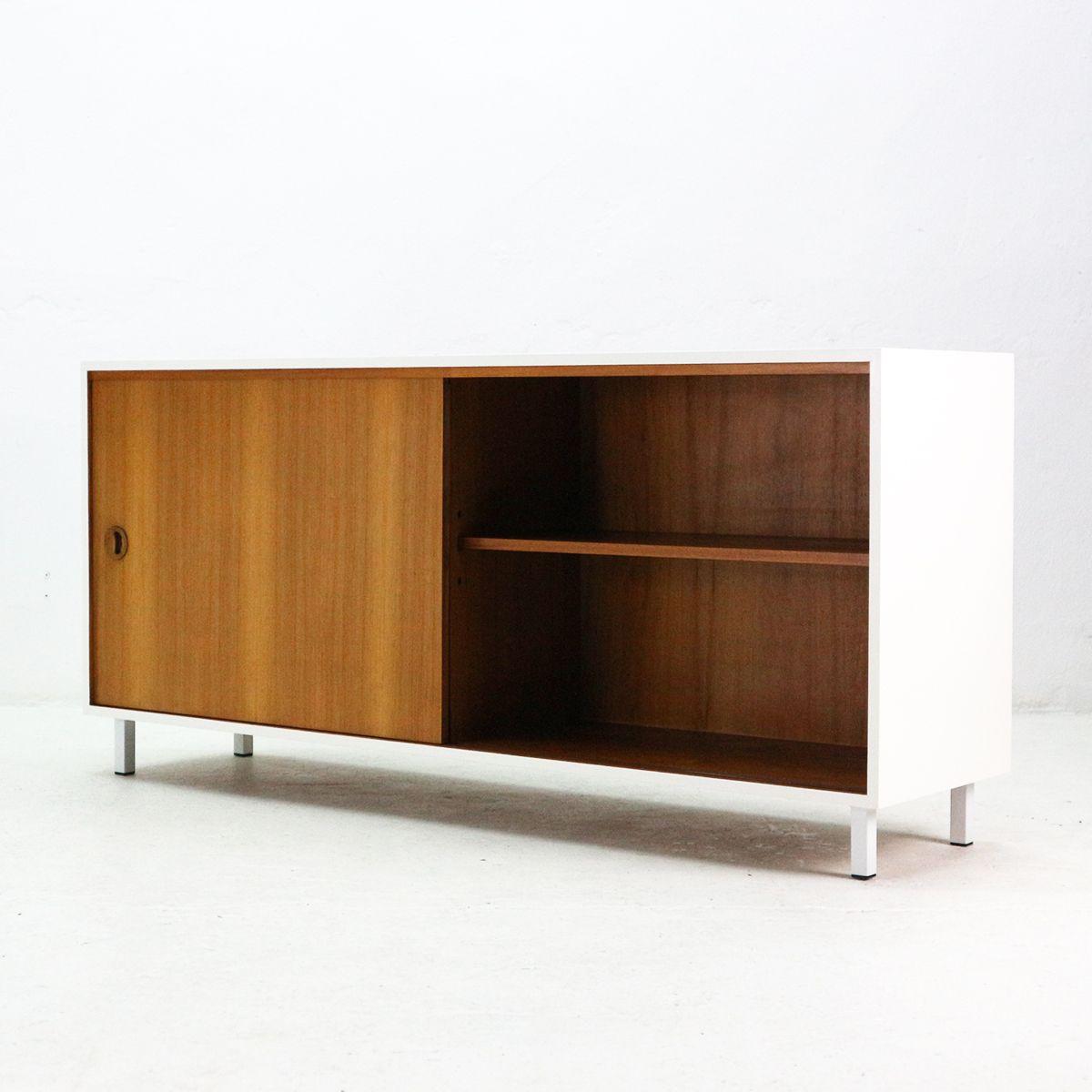 teak sideboard von musterring 1960er bei pamono kaufen. Black Bedroom Furniture Sets. Home Design Ideas