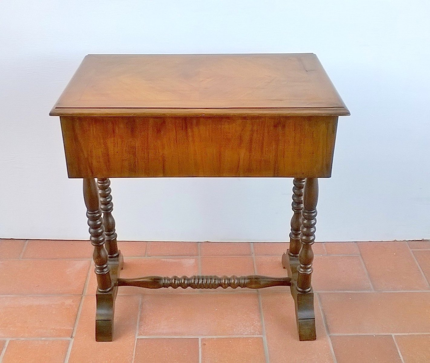 antique sewing table 1890s for sale at pamono. Black Bedroom Furniture Sets. Home Design Ideas