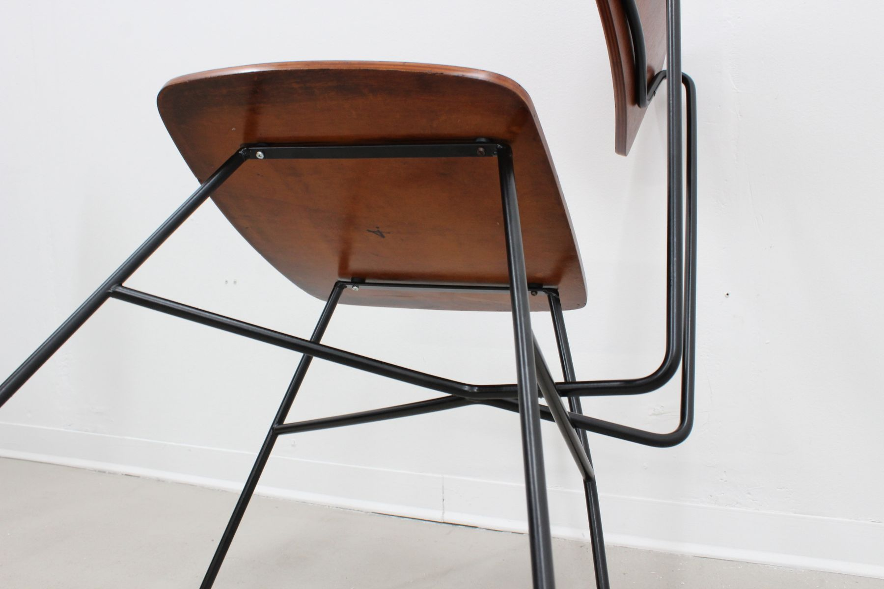 Side chairs by bbpr 1950s set of 4 for sale at pamono for Side chairs for sale