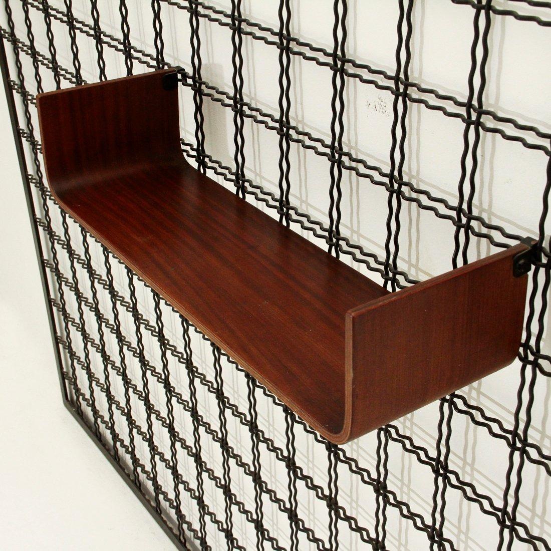 garderobe mit spiegel und ablage von stilcasa 1950er bei. Black Bedroom Furniture Sets. Home Design Ideas