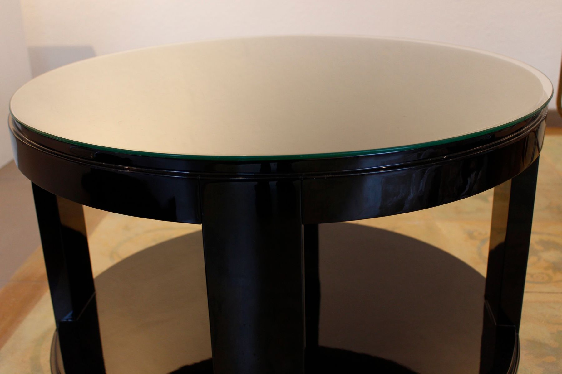 Vintage art deco coffee table for sale at pamono for Art deco coffee table