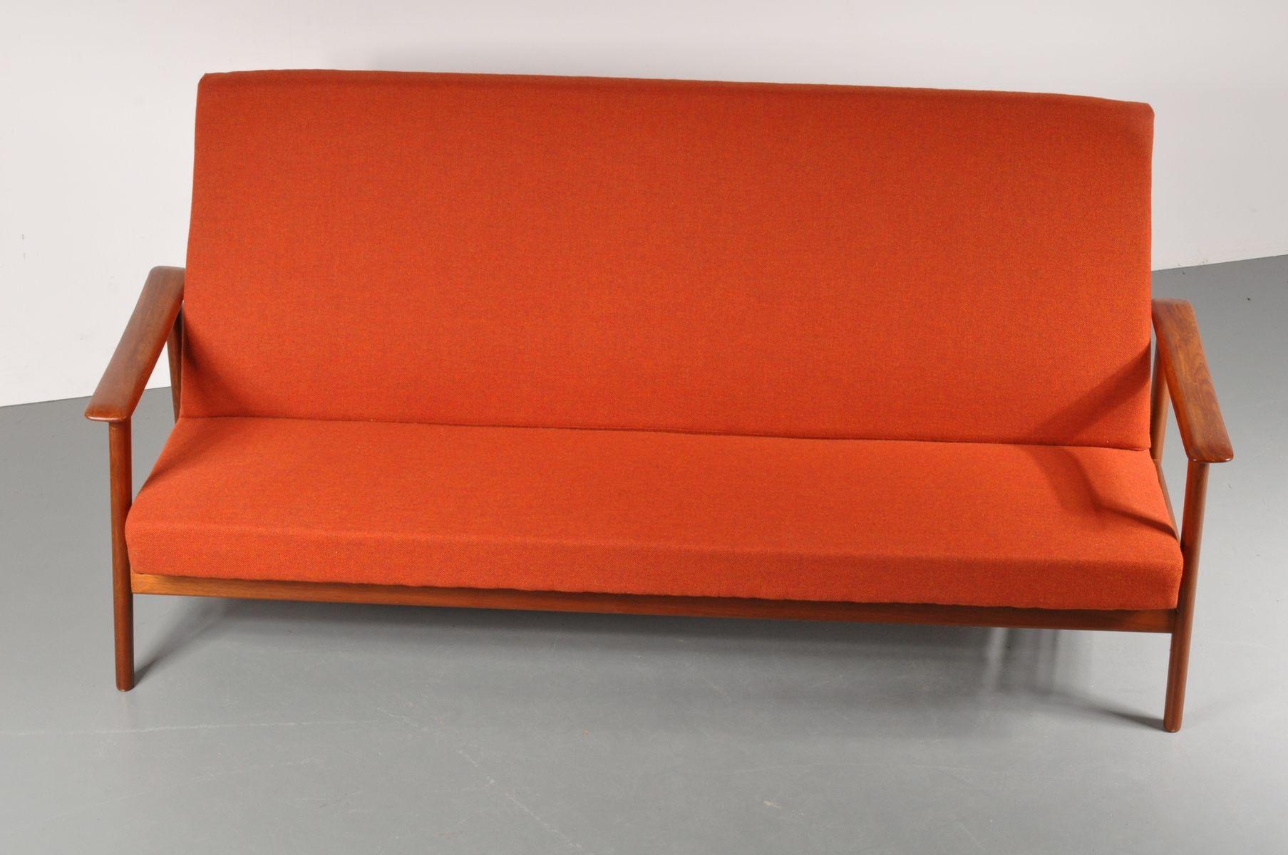 Scandinavian 3-Seater Sofa, 1950s for sale at Pamono