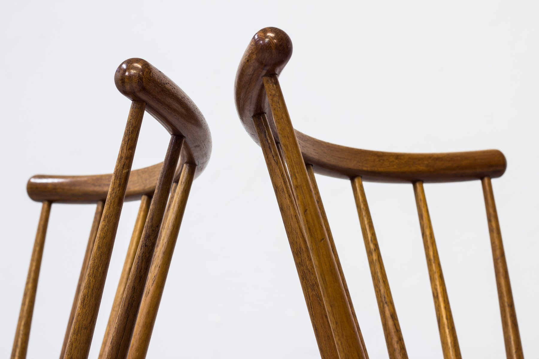 Dining Chairs by Yngve Ekström for Stolab, 1950s, Set of 6 for sale at Pamono