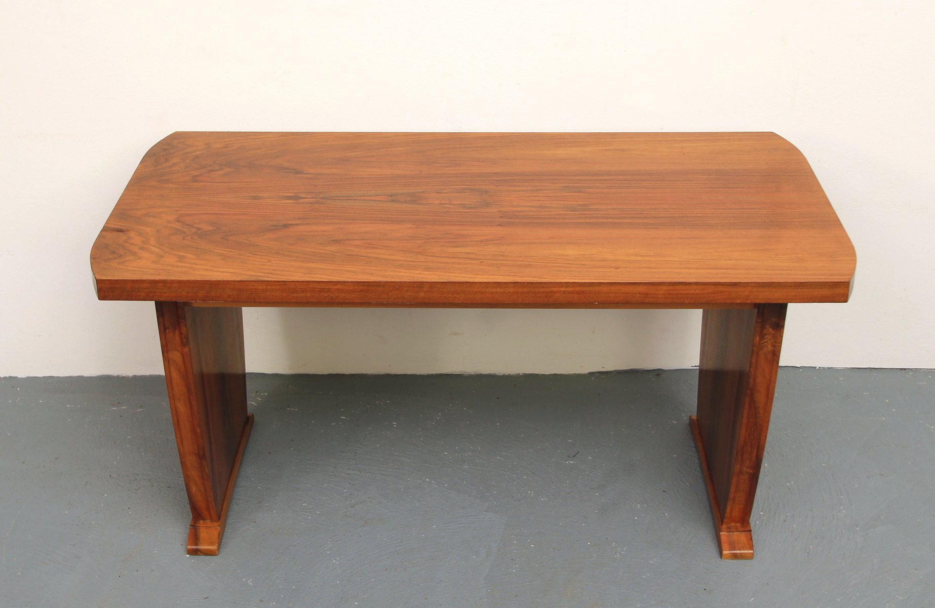 Walnut Coffee Table 1960s For Sale At Pamono