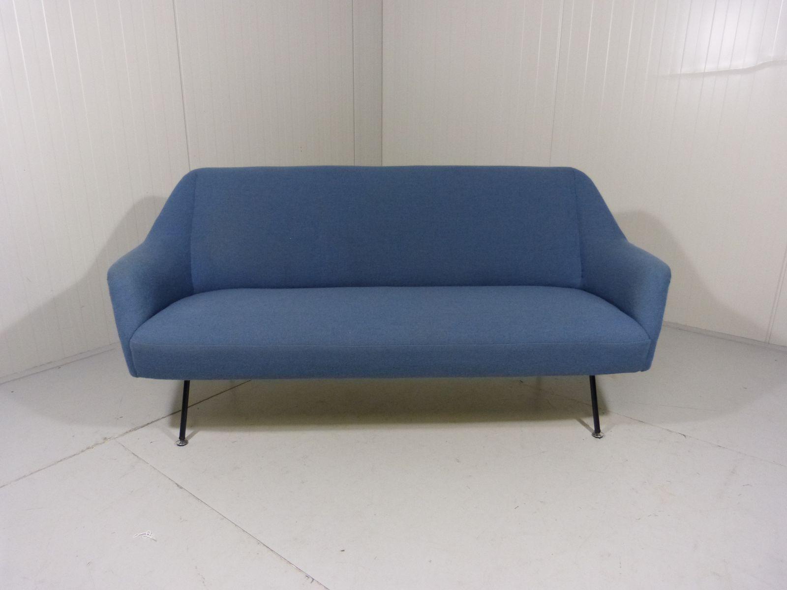 drei sitzer sofa 1950er bei pamono kaufen. Black Bedroom Furniture Sets. Home Design Ideas