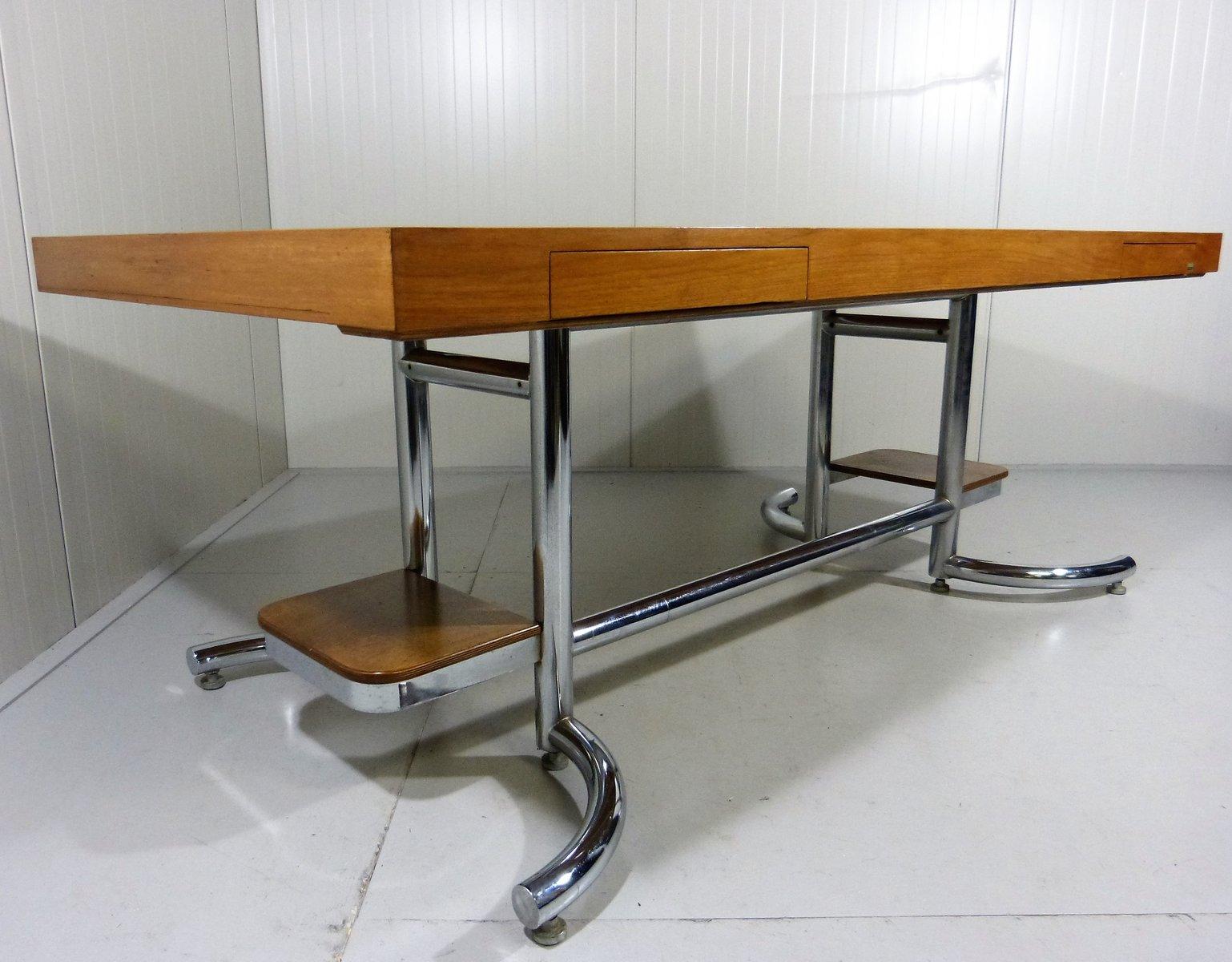 gro er schreibtisch von stolzenberg 1960er bei pamono kaufen. Black Bedroom Furniture Sets. Home Design Ideas