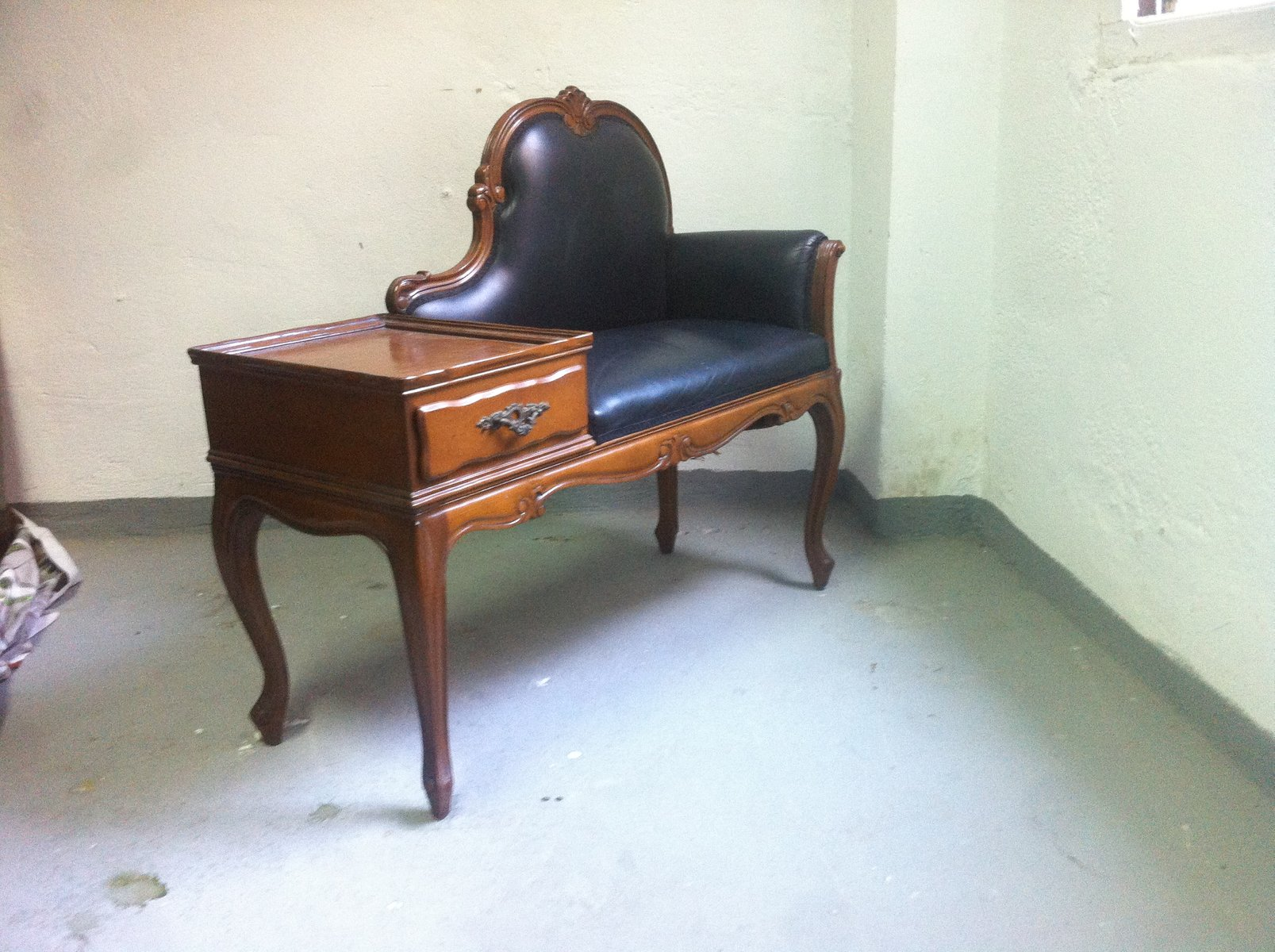 Vintage Telephone Bench 1940s For Sale At Pamono
