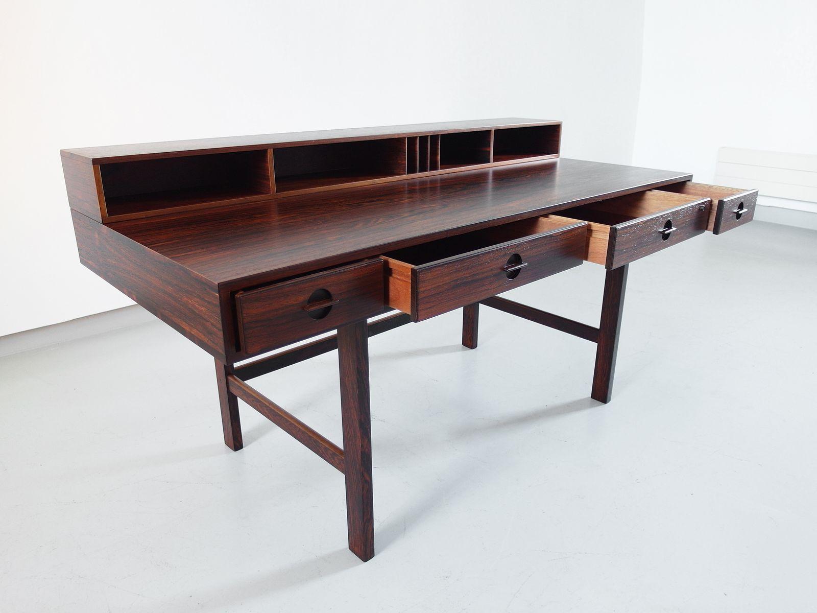 Flip top desk by jens quistgaard for l vig 1966 for sale for Flip top computer desk