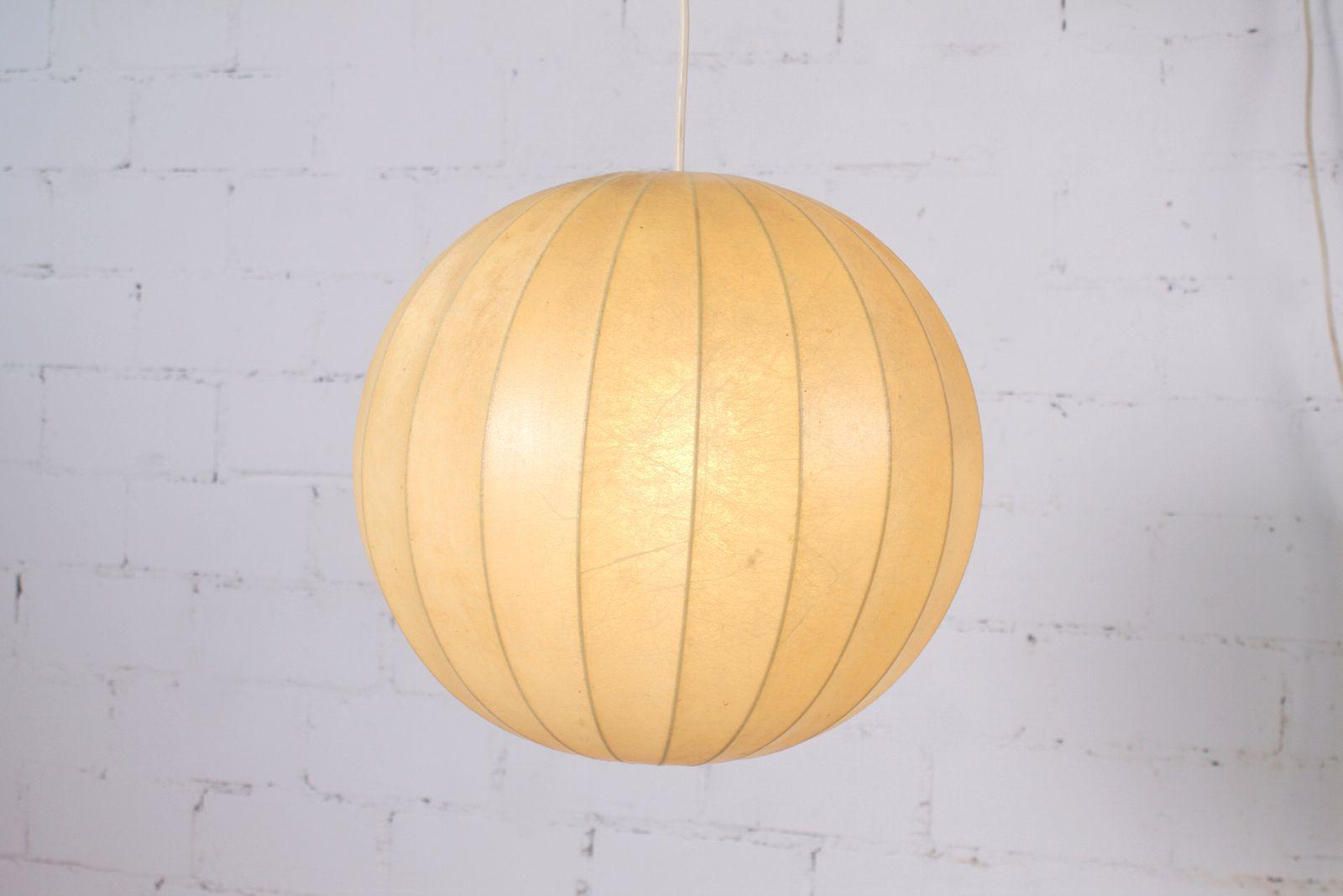 Vintage Kokon Lampe Von Goldkant Leuchten 1960er Bei