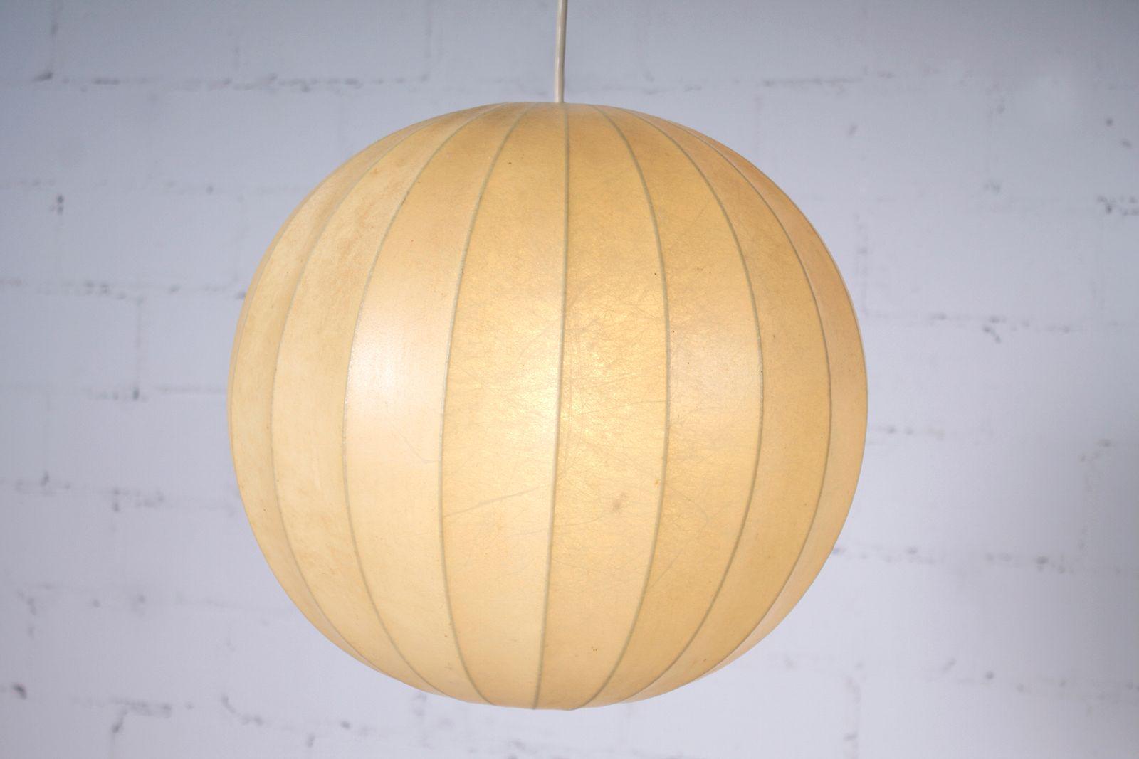 vintage kokon lampe von goldkant leuchten 1960er bei pamono kaufen. Black Bedroom Furniture Sets. Home Design Ideas