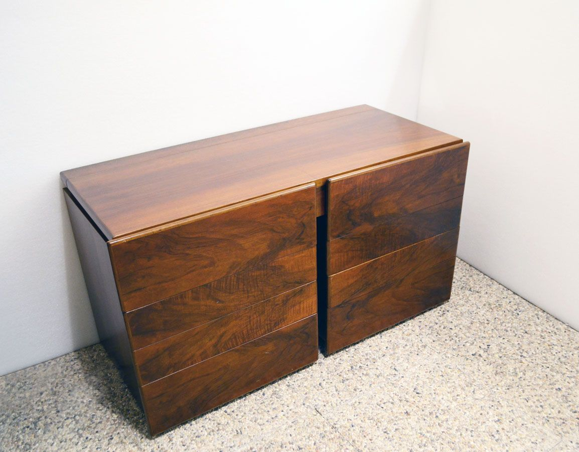 Modular Rosewood Cabinet With Drawers From Sormani 1970s For Sale At Pamono