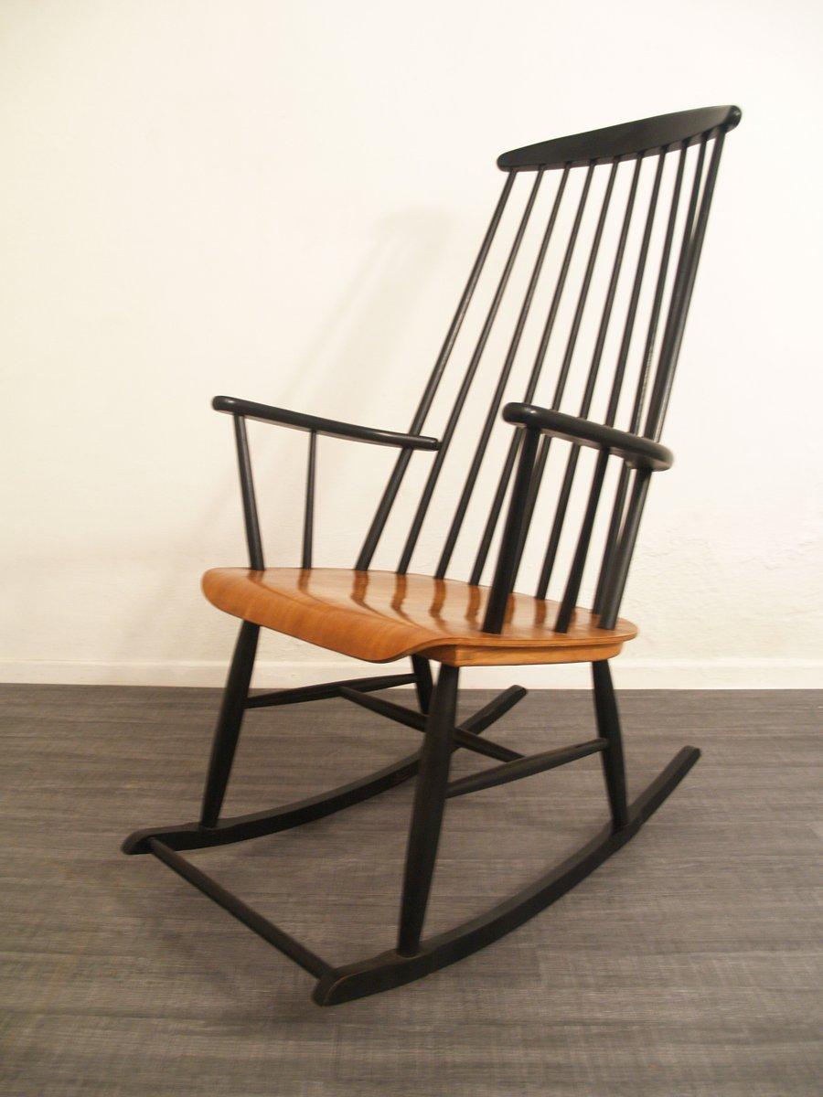 schaukelstuhl 1960er bei pamono kaufen. Black Bedroom Furniture Sets. Home Design Ideas