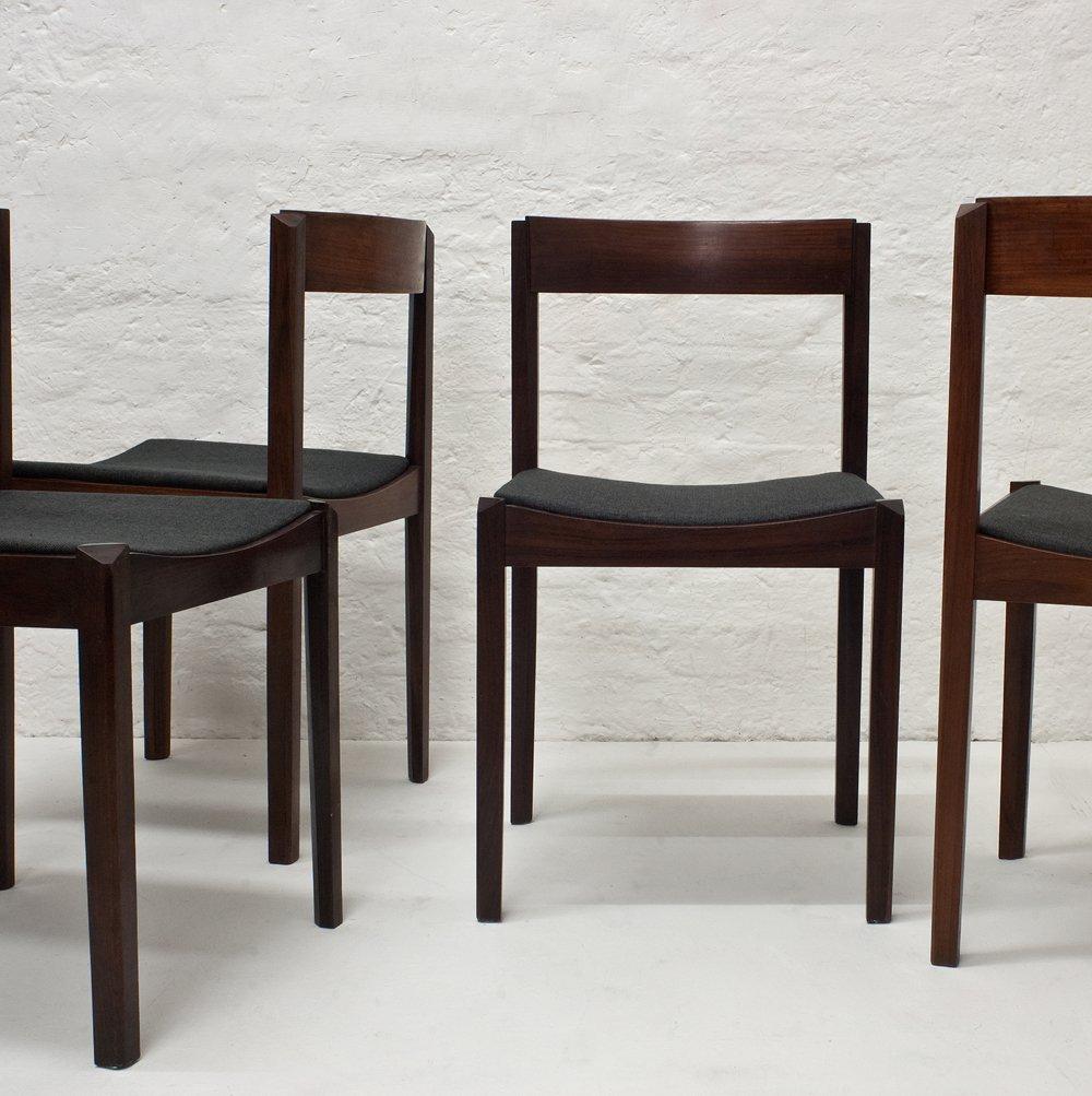 esszimmerst hle von giovanni ausenda f r stilwood 1963. Black Bedroom Furniture Sets. Home Design Ideas