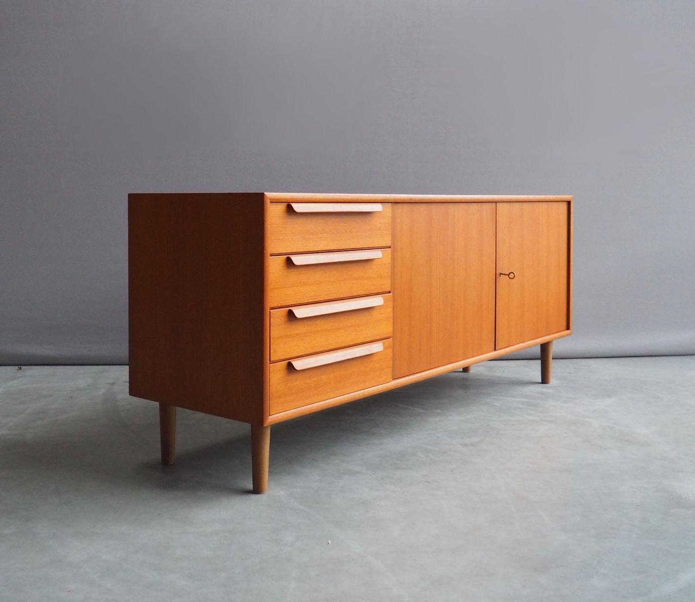 vintage sideboard von wk m bel 1960er bei pamono kaufen. Black Bedroom Furniture Sets. Home Design Ideas