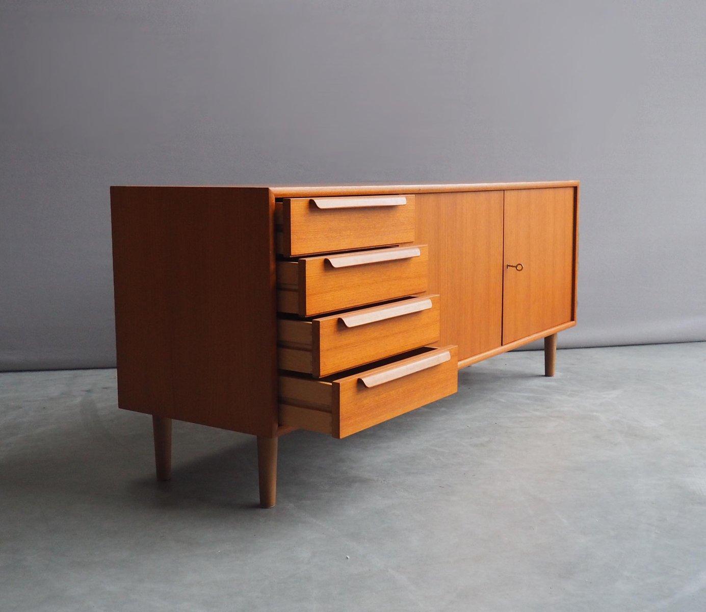 vintage sideboard from wk m bel 1960s for sale at pamono. Black Bedroom Furniture Sets. Home Design Ideas