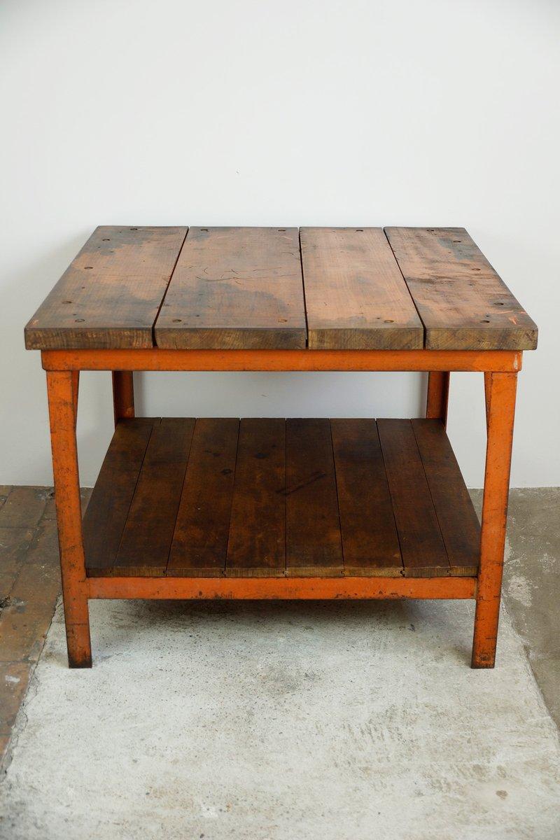 rustikaler vintage tisch 1930er bei pamono kaufen. Black Bedroom Furniture Sets. Home Design Ideas