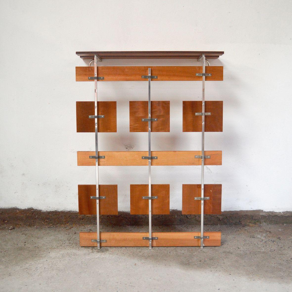 Wand garderobe 1960er bei pamono kaufen for Garderobe englisch