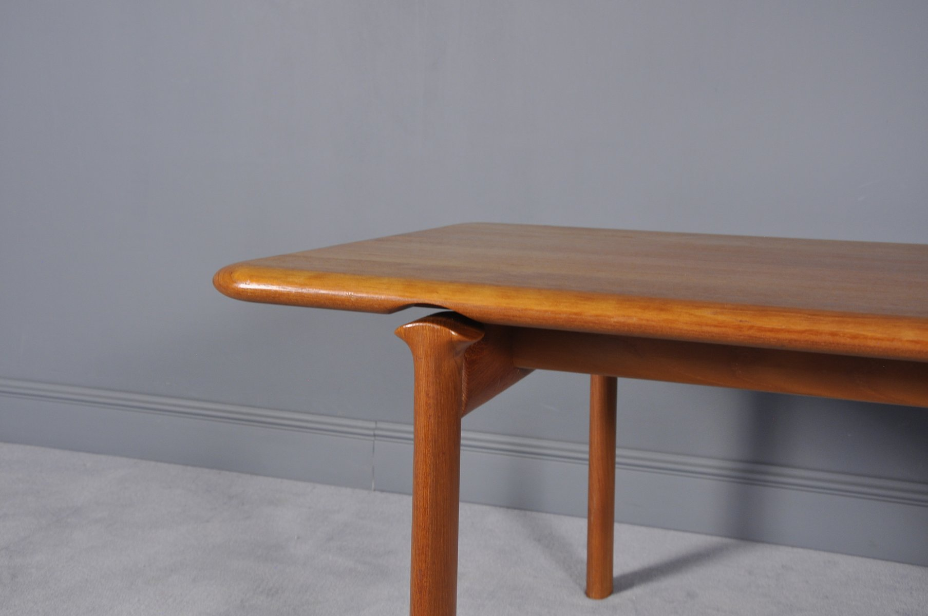 Danish Teak Coffee Table From Komfort 1970s For Sale At Pamono