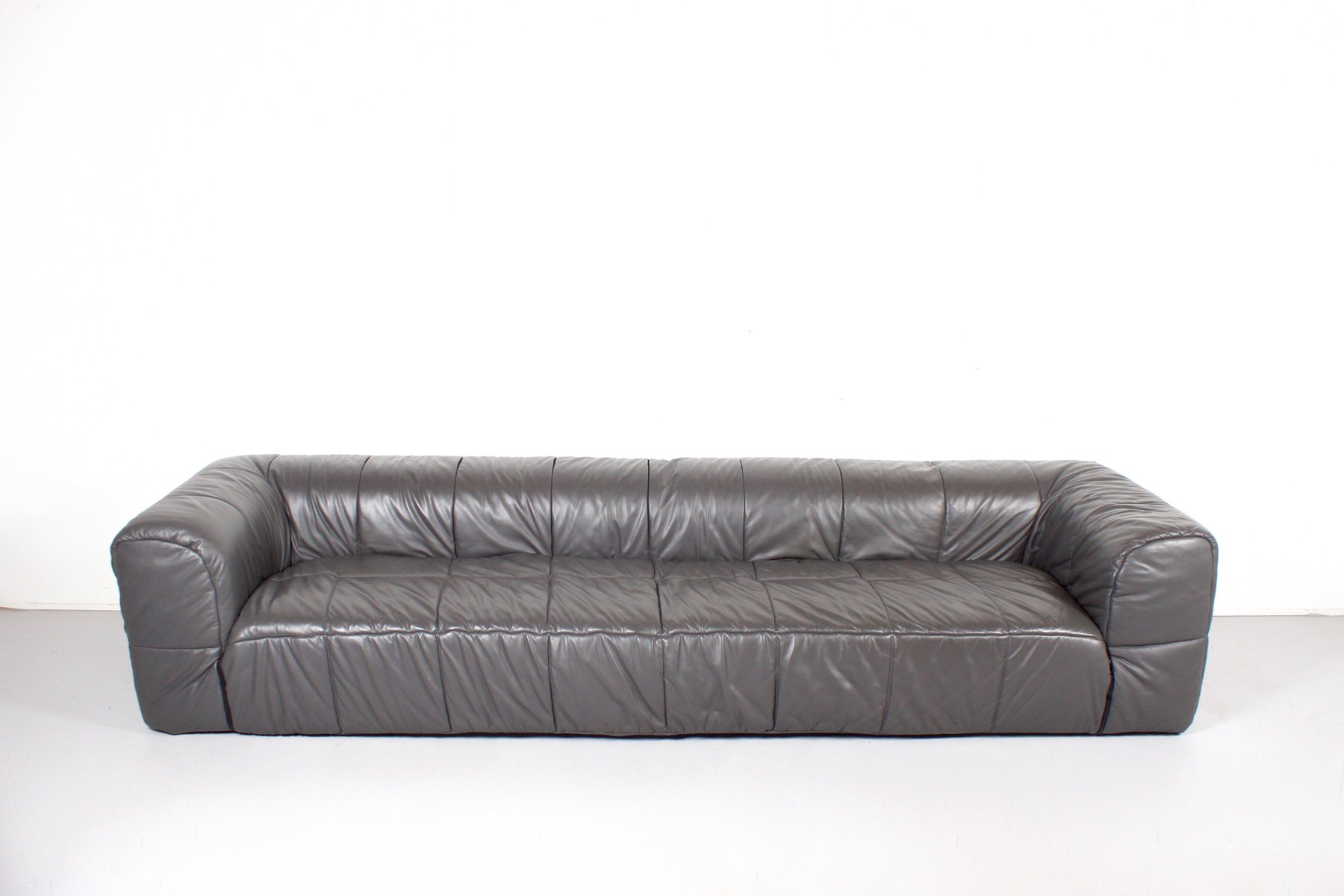 Large Leather Strips Sofa By Cini Boeri For Arflex 1968 For Sale At Pamono
