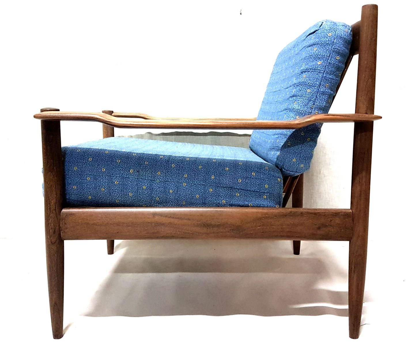 Mid Century Danish Lounge Chair In Teak For Sale At Pamono