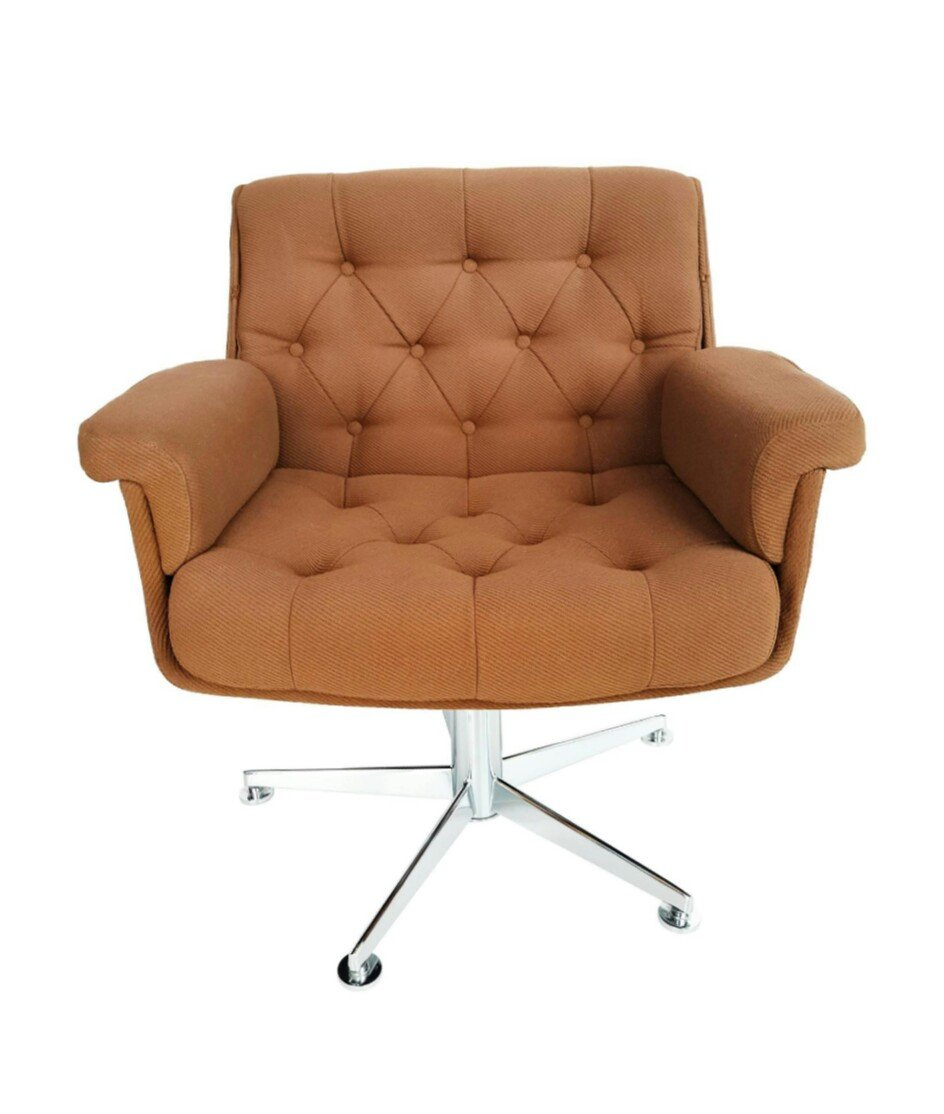 Lounge Swivel Armchair From Airborne 1970s For Sale At Pamono