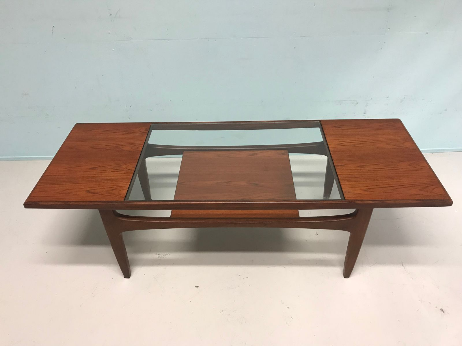 Mid century modern teak coffee table from g plan for sale for Modern coffee table sale