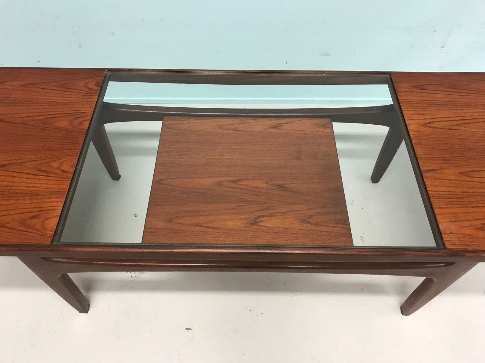 Mid century modern teak coffee table from g plan for sale at pamono Modern teak coffee table