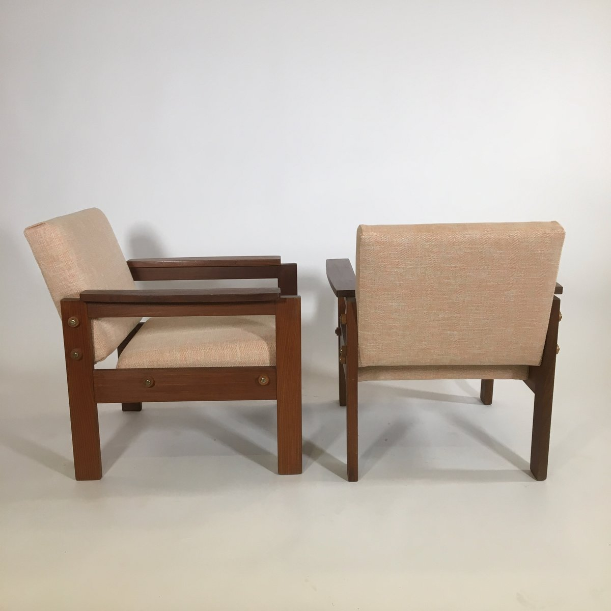 Teak armchairs 1950s set of 2 for sale at pamono for 2 armchairs for sale