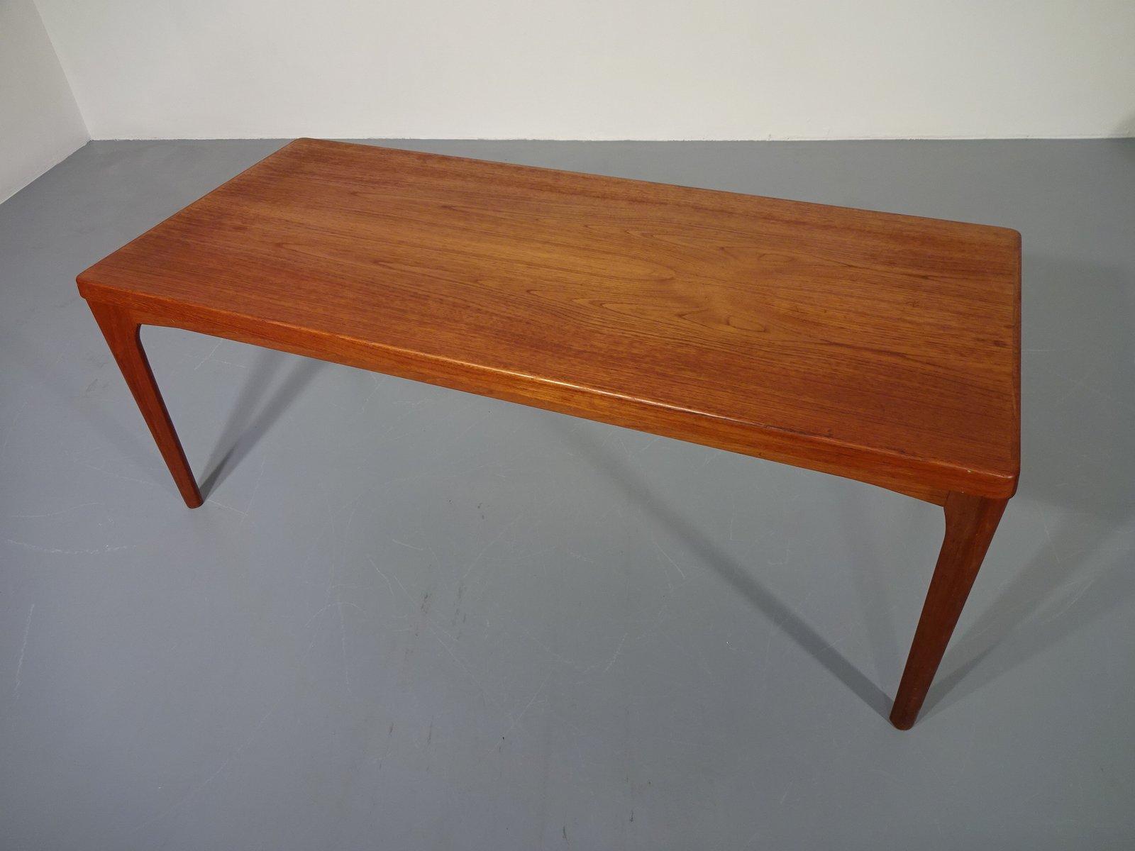 Vintage Teak Coffee Table By Henning Kjaernulf For Velje Mobelfabrik For Sale At Pamono