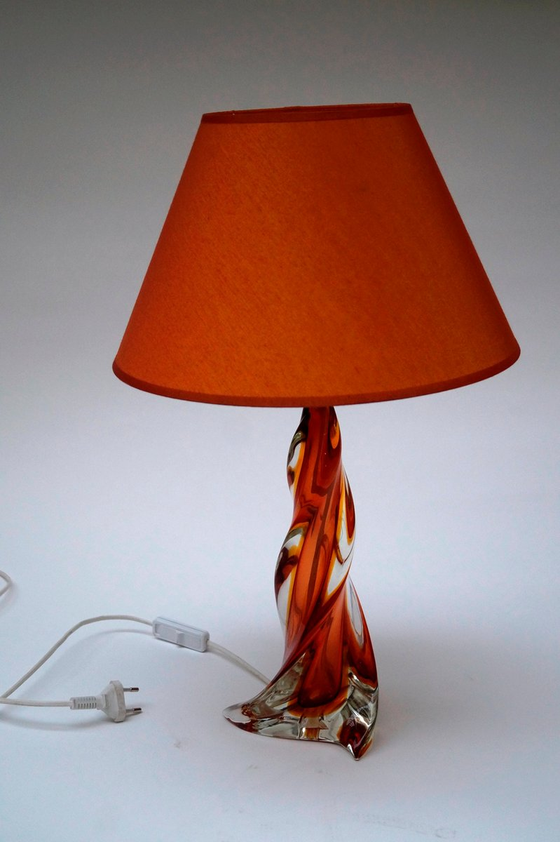 Mid century murano glass table lamp for sale at pamono mid century murano glass table lamp aloadofball Image collections
