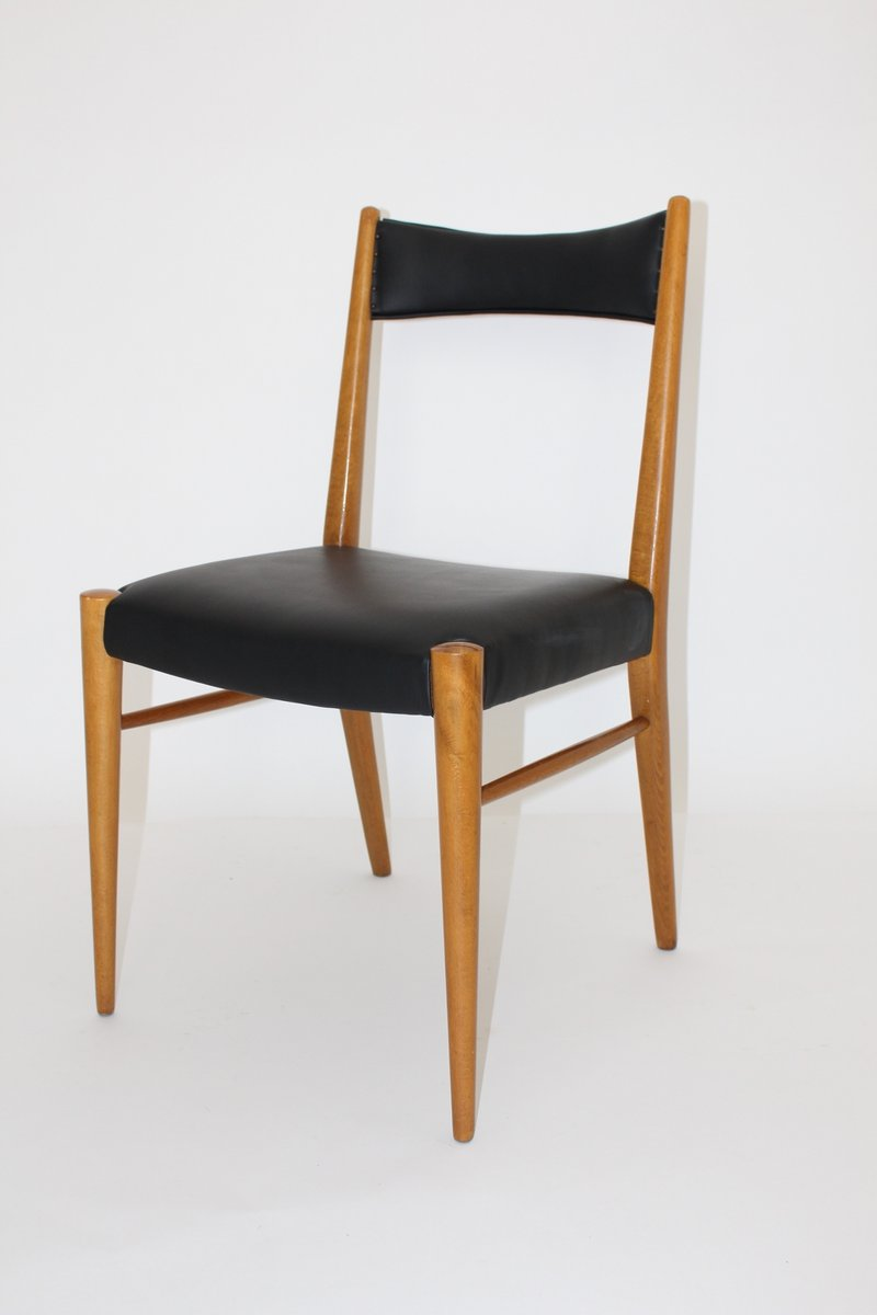 Viennese dining room chairs by anna l lja praun for - Four dining room chairs set ...
