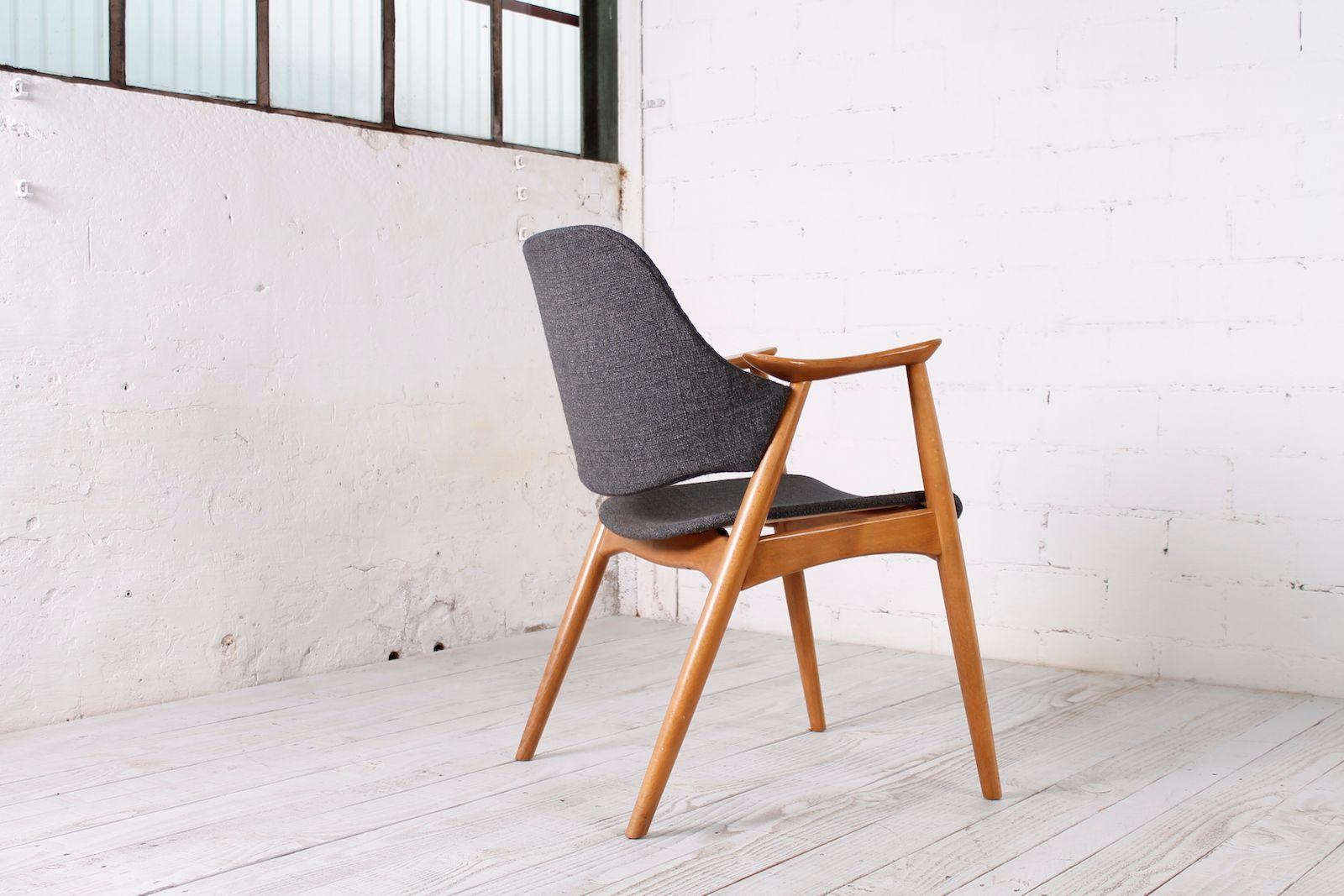 Stuhl aus buche 1950er bei pamono kaufen for Stuhl buche